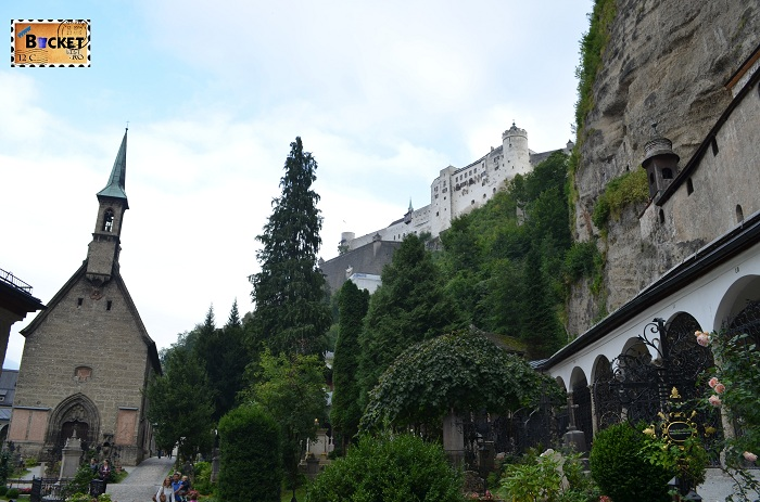 abația Sfântul Petru (Stift Sankt Peter) si Hohensalzburg