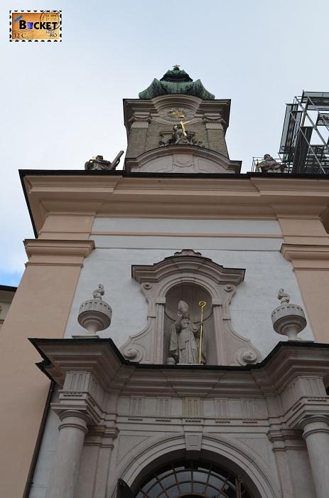 abația Sfântul Petru - biserica