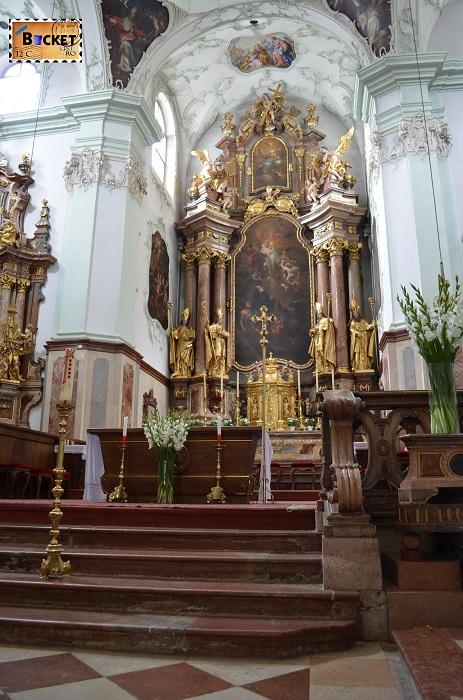 biserica Sfântul Petru din Salzburg - altar