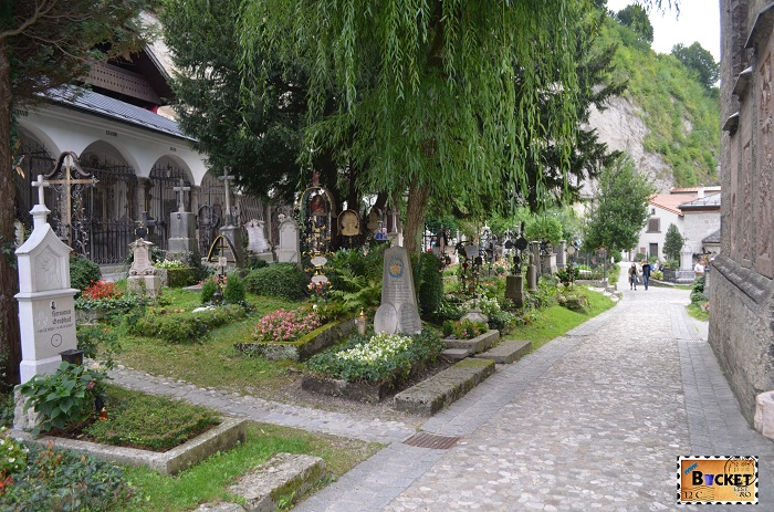 cimitirul Petersfriedhof - Abatia Sf Petre