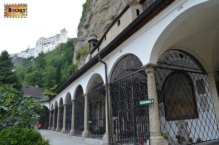 cimitirul abației Sfântul Petru (Stift Sankt Peter)