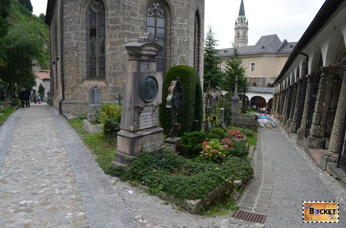 cimitirul abatiei Sf Petru - Petersfriedhof