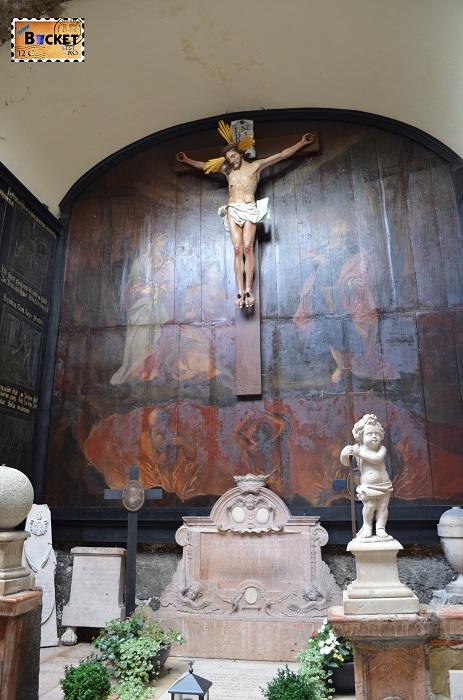 cimitirul abatiei Sf Petru din Salzburg- Petersfriedhof