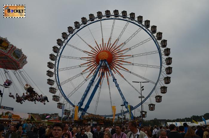 Das Riesenrad - Oktoberfest Munchen 2013