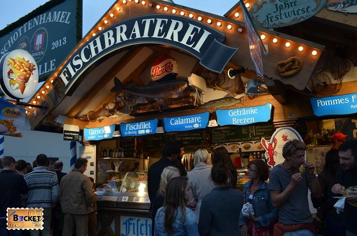 Fischbraterei Oktoberfest Munchen