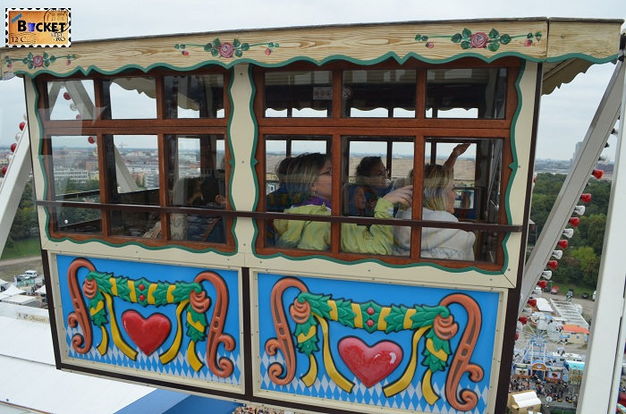 Gondola Munchen Oktoberfest Riesenrad