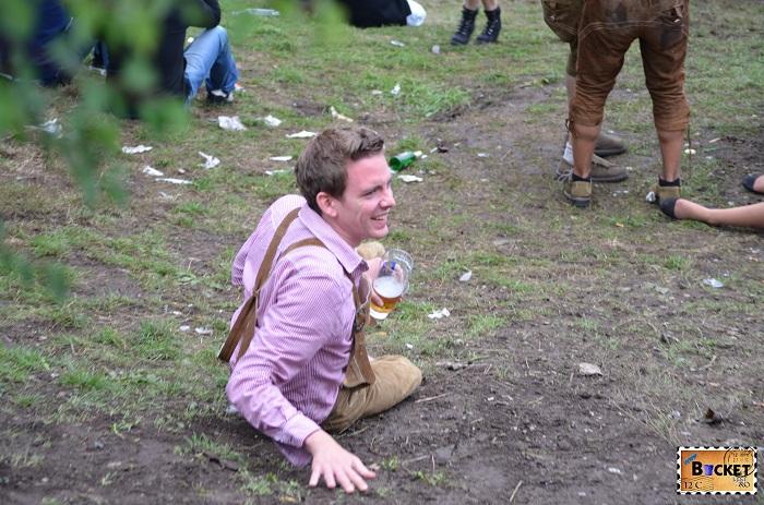 Munchen Oktoberfest - Prea multa bere
