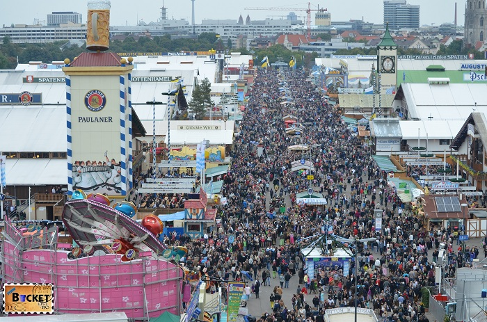 Oktoberfest Munchen vazut din Riesenrad - roata uriaşă (4)