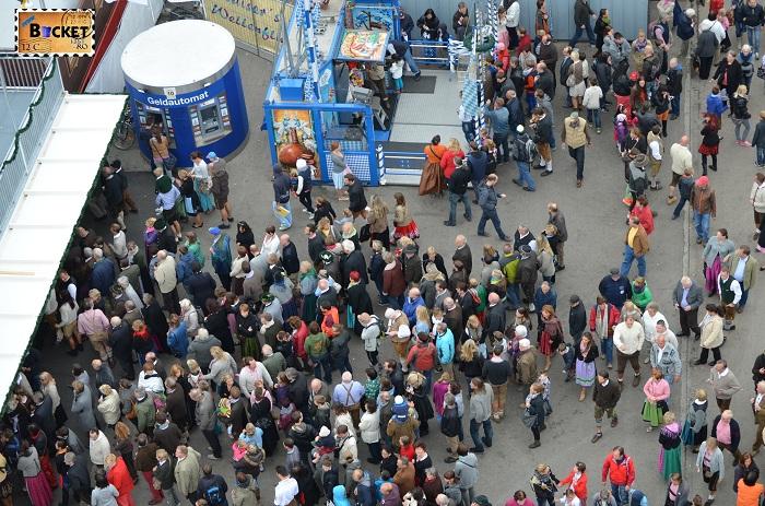 Oktoberfest Munchen vazut din Riesenrad - roata uriaşă (5)