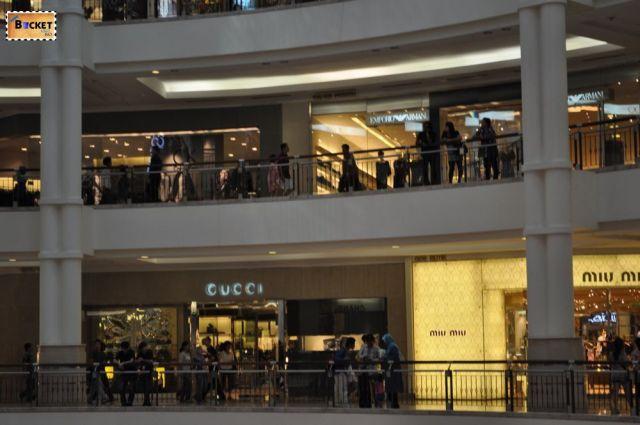 Mall in turnurile Petronas