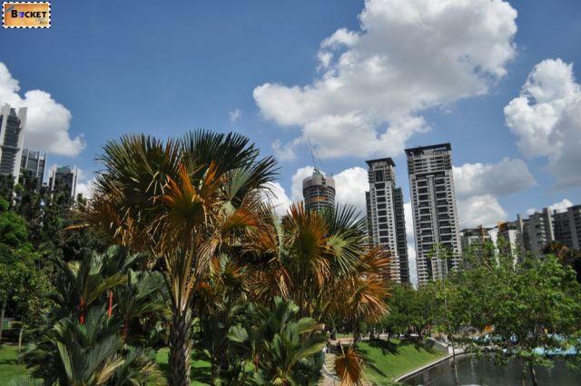 Turnurile Petronas - parc