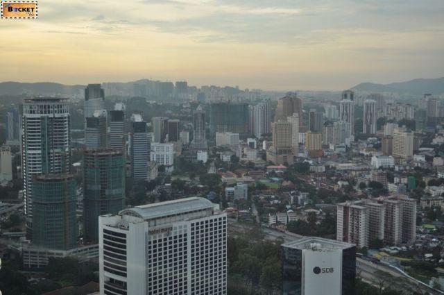 Vedere din turnurile Petronas