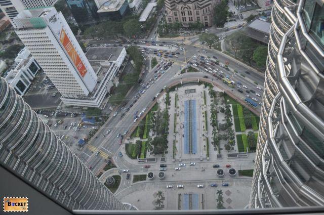 Turnurile Petronas vedere spre  Public Bank Berhad