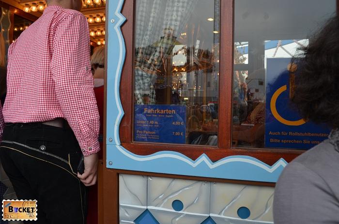 Pretul biletelor la Das Riesenrad - Oktoberfest Munchen 2013