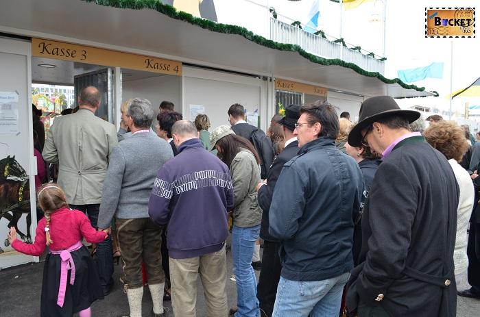 intrare la Oide Wiesn - Oktoberfest Munchen;