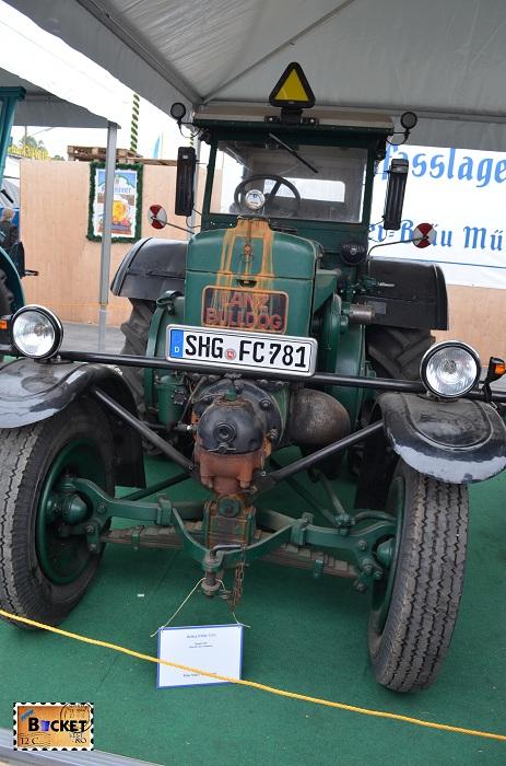 Tractor Lanz Bulldog d 8506 Oide Wiesn - Oktoberfest Munchen