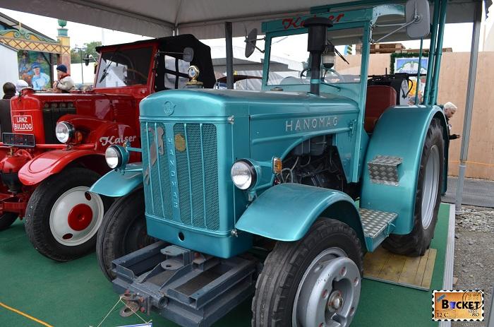 Tractor Hanomag Oide Wiesn - Oktoberfest Munchen