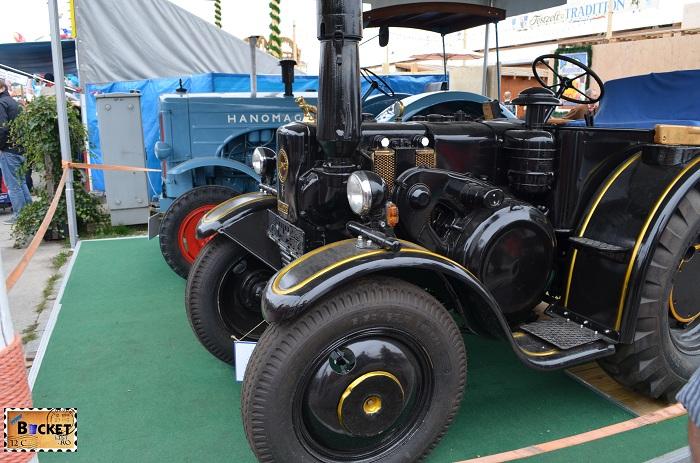Tractor Lanz Bulldog Oide Wiesn - Oktoberfest Munchen