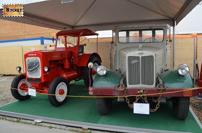 Tractoare Deutz Si Hanomag Zugmaschine SS 60 Oide Wiesn - Oktoberfest Munchen
