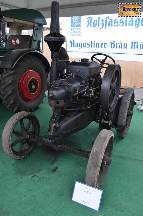 Tractor Lanz Bulldog HL12 Oide Wiesn - Oktoberfest Munchen