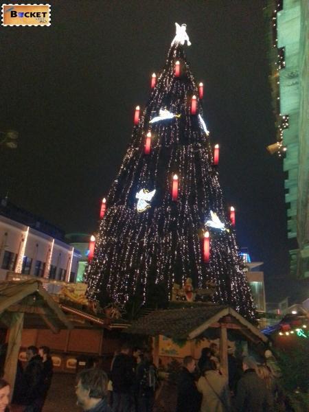 2013 Dortmund cel mai inalt pom de Craciun