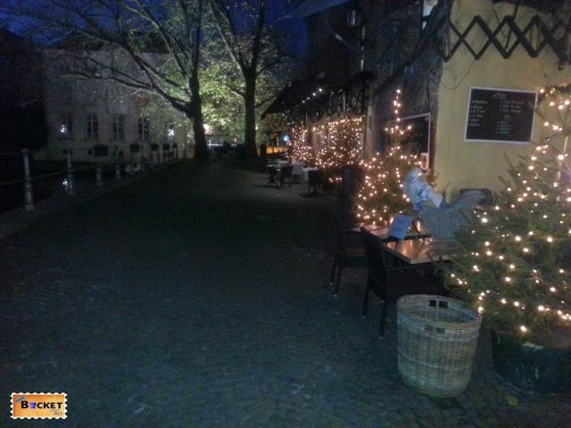 Bruges lumini de Craciun