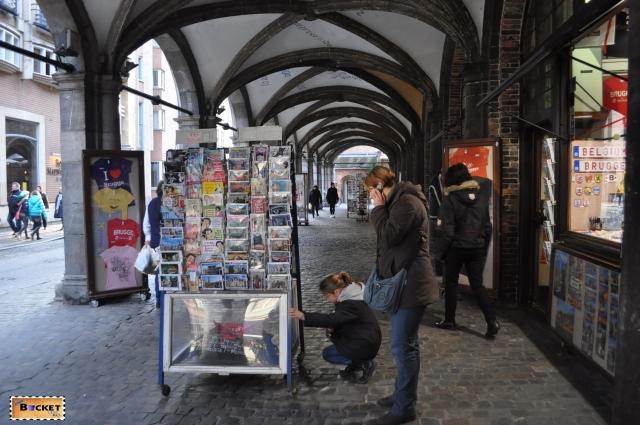 Bruges Piata de Craciun