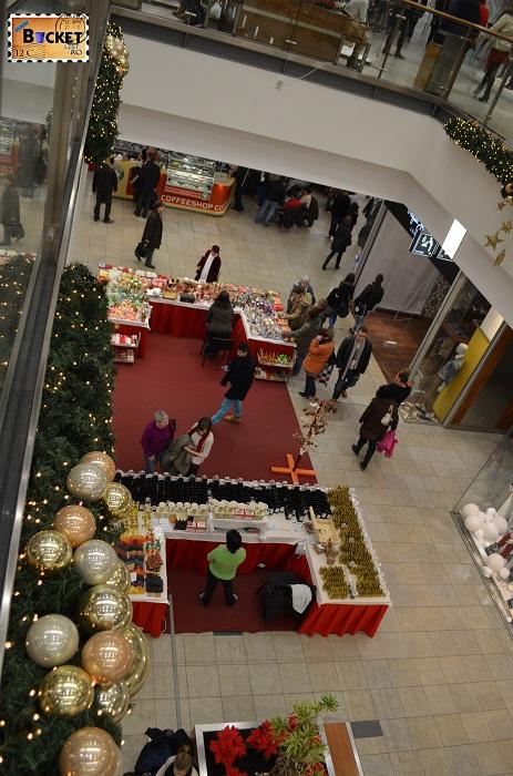 târgul de Crăciun din Forum Debrecen