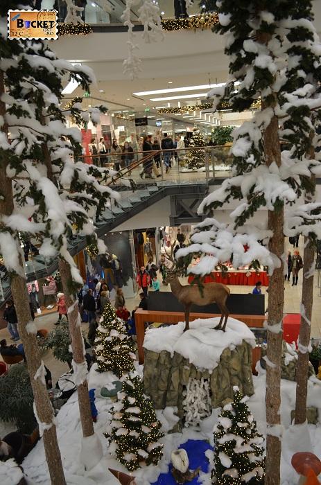 Mini târgul de Crăciun din Forum Debrecen