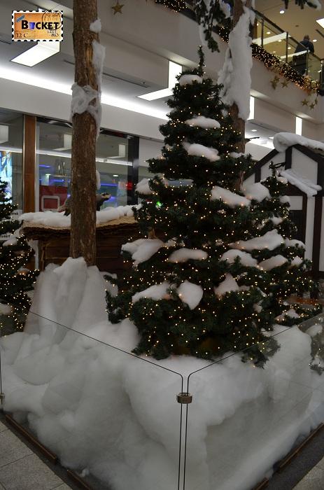 peisaj de iarnă la Forum Debrecen