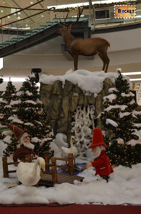 iarna la Mini târgul de Crăciun din Forum Debrecen
