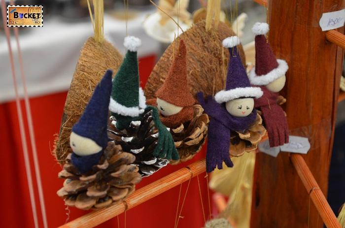 Suveniruri la târgul de Crăciun din Forum Debrecen