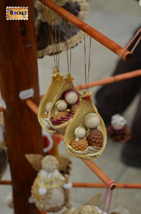 ornamente la târgul de Crăciun din Forum Debrecen