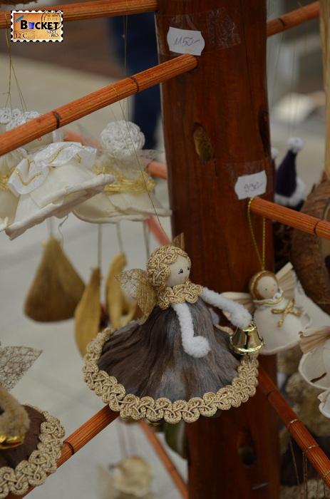 Ornamente pentru brad la Mini târgul de Crăciun din Forum Debrecen