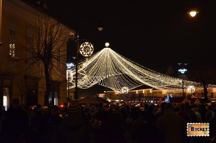 Plasa de Stele - Targul de Craciun din Sibiu