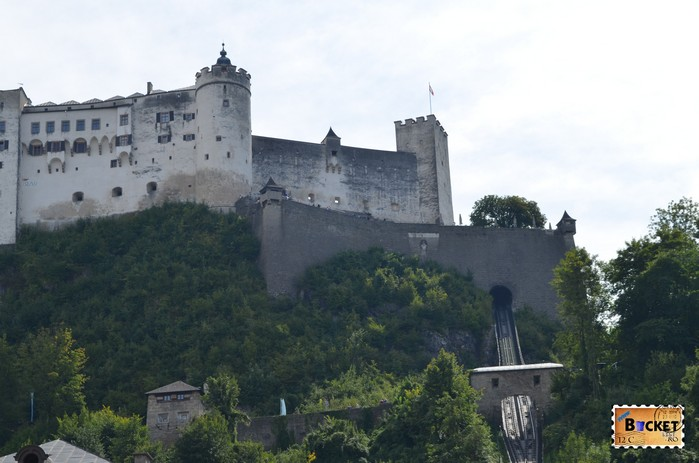 Castelul Hohensalzburg si funicularul