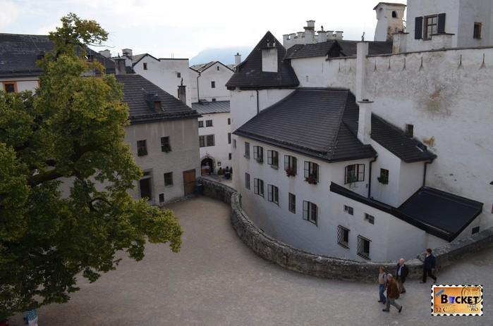 Curtea Interioara a Castelului Hohensalzburg