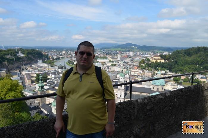 bird eye view Salzburg