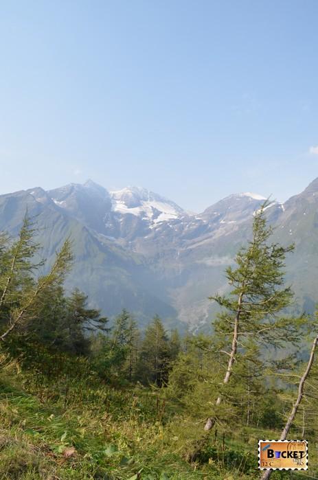 priveliste pe drumul Grossglockner High Alpine Road - Cel mai frumos drum alpin din Austria ; Großglockner Hochalpenstraße;