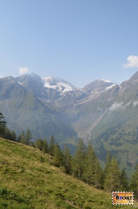 Peisaj pe Grossglockner High Alpine Road - Cel mai frumos drum alpin din Austria ; Großglockner Hochalpenstraße;