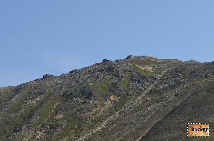 Edelweißspitze - vârful Edelweiss; vazut de pe Großglockner