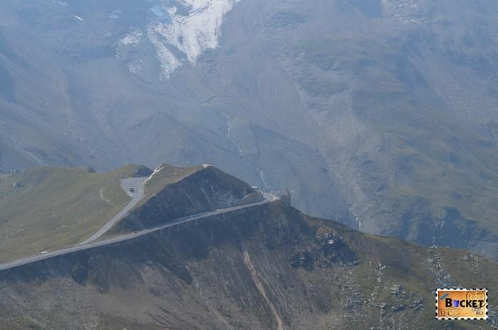 Fuscher Törl de pe drumul alpin Grossglockner
