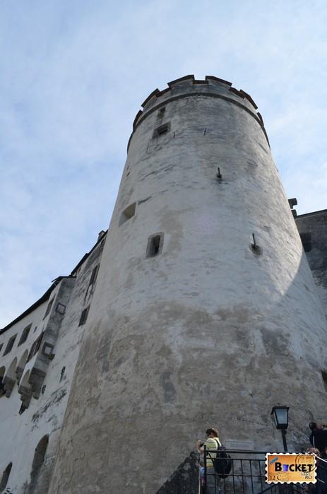 Glockenturm castel Salzburg