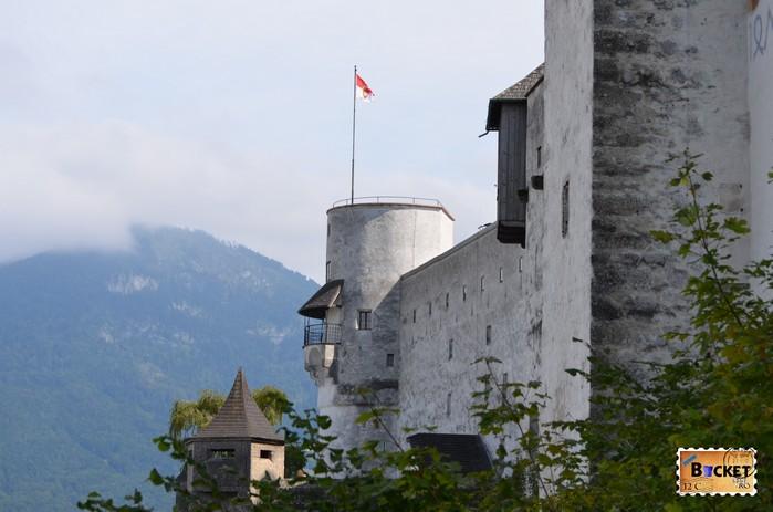 Turnul trompetei din Castelul Hohensalzburg
