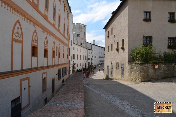 curte interioara Castelul Hohensalzburg