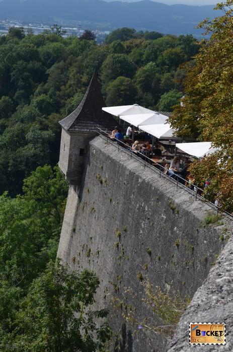 terasa  Castelul Hohensalzburg