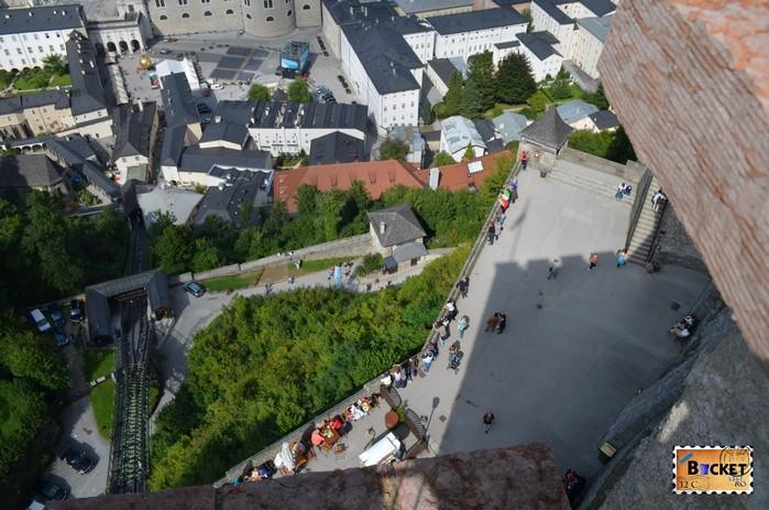 terasa Castelului din Salzburg