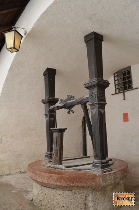 fantana in Castelul Hohensalzburg