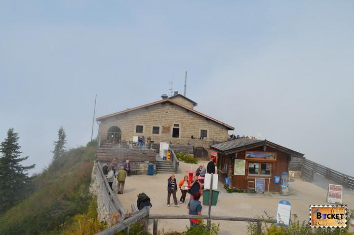 Kehlsteinhaus - Cuibul de vulturi a lui Hitler - Eagle's Nest.