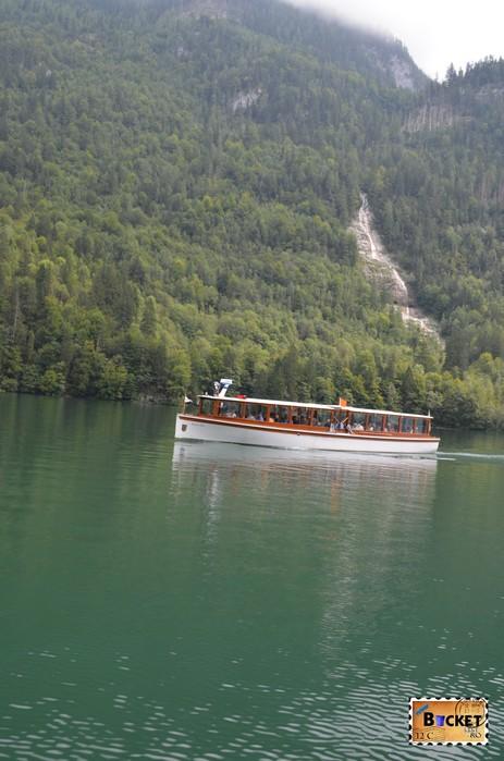 Lacul Konigssee şi Königsbach wasserfall